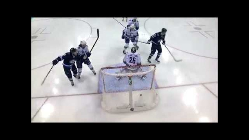 Dmitri Kulikov opens the scoring with a lucky shot (2017)