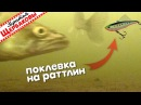 Поклевка судака на раттлин Подводные съемки