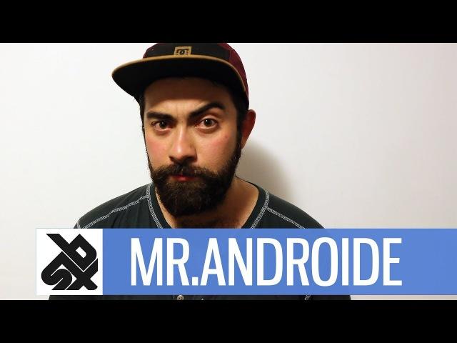 MR.ANDROIDE | Latin American Beatbox Champion