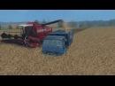 Уборка ячменя, комбайнами Палессе ! Farming Simulator 2015