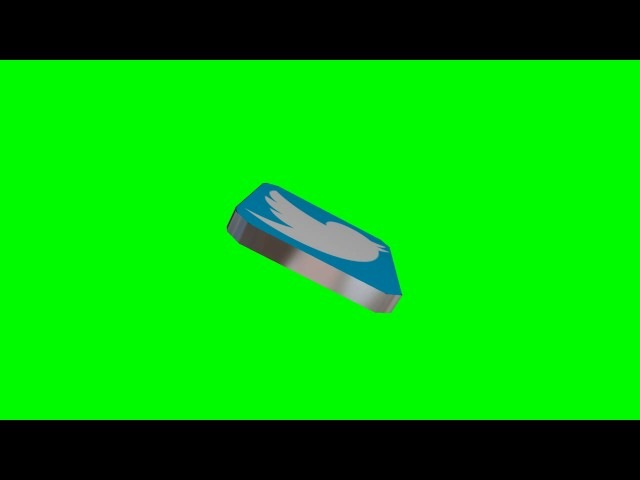 Top Free Green Screen Animated 3D Social Media Icon Part 2