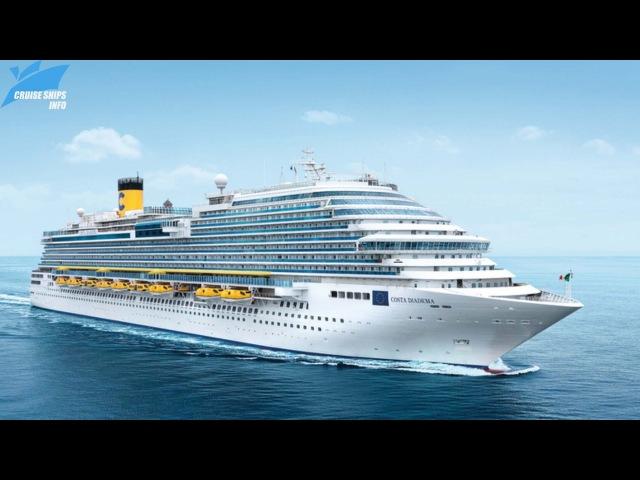 Costa Diadema Cruise Ship Tour - Costa Cruise Line