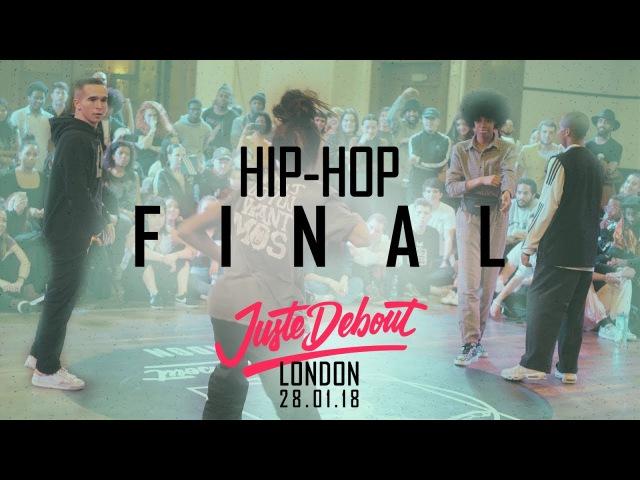 Juste Debout - London 2018 - Josh Evion vs Sharifa Saul - Hip Hop Final | Danceproject.info