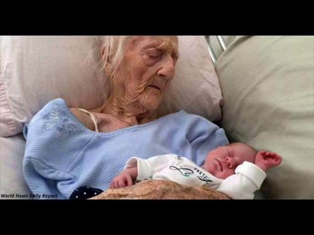 Знакомьтесь, это самая старая в мире мама Ей 101, и она родила ребенка!