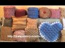 Буфы и крэш-в текстильном дизайне