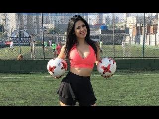 Football Freestyle Amazing Girls | Beautiful Women's Crazy Football Skills and Tricks #2