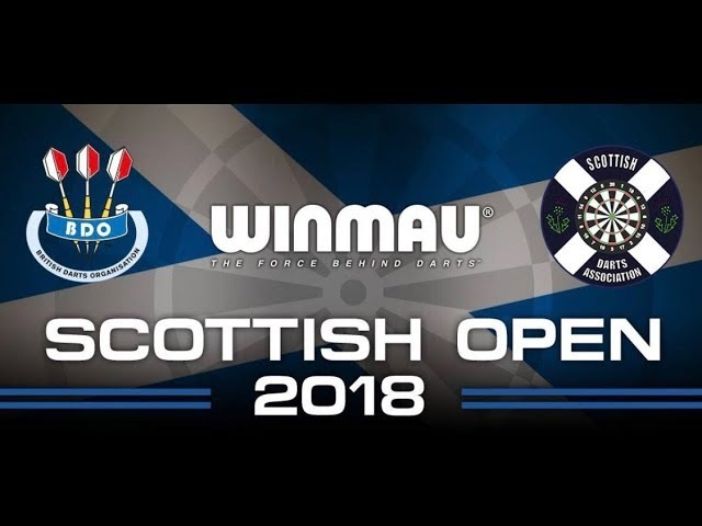 2018 Scottish Darts Open Final Sherrock vs Dobromyslova