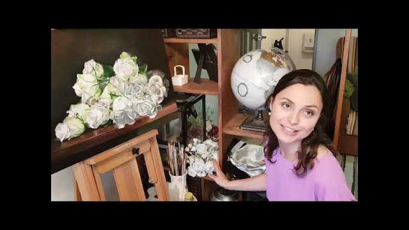 SilkFlora в гостях у Юлии Федотовой основательницы японской школы шелковой флорист