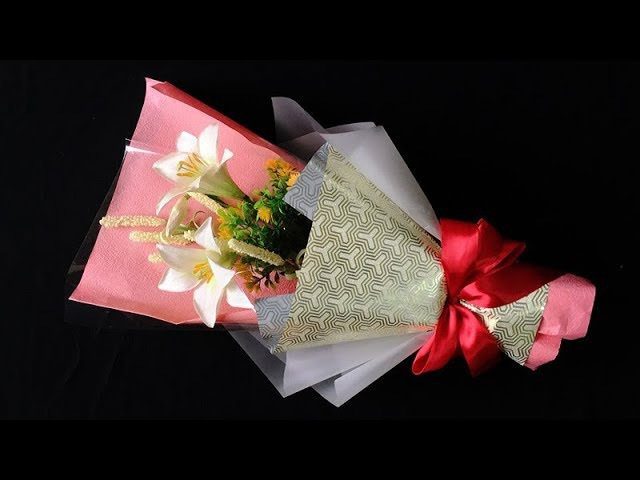 ABC TV | How To Make Flower Bouquet Easter Lily- Craft Tutorial