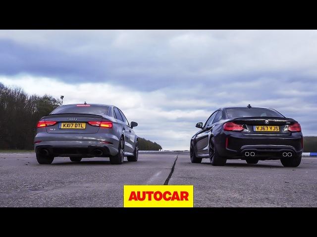 ۩ AUDI RS3 SEDAN QUATTRO vs BMW M2 ۩