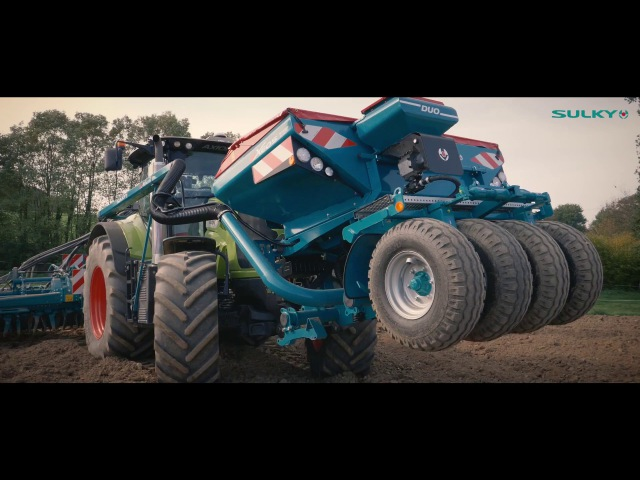100% Made In France ! TwinDisc SULKY - XEOS TF - CLAAS Axion 850