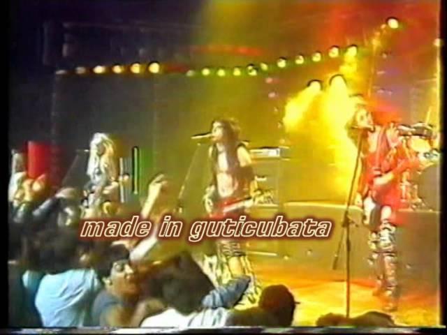 WASP ..Restsless gypsy..(tocata 1985) TVE