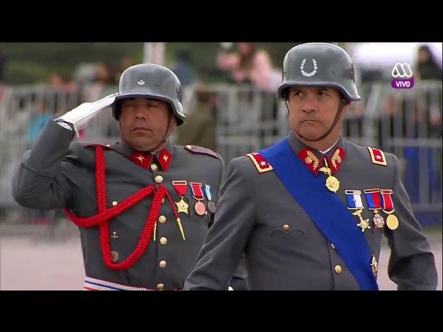 Gran Parada Militar Chile 2017 Ejercito de Chile Final (13/13) HD 720p