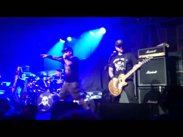 Hatebreed - Live For This/Every Lasting Scar @ Barrowlands Glasgow Scotland 15/11/2014