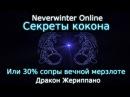 Оберег сопротивляемости вечной мерзлоте или секреты кокона. Neverwinter online 2017