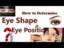 How to Determine Eye Shape how to determine eyebrow shape how do you determine eye shape