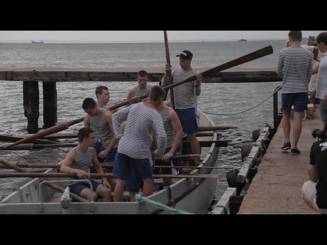 В Керчи курсанты сошлись в морском многоборье