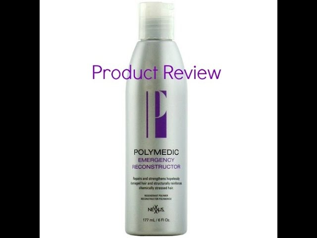 Product Review: Nexxus Polymedic Emergency Reconstructor