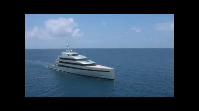 Feadship - 83.50m Savannah, First Hybrid Motoryacht in the World.