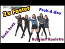 Red Velvet 2X FASTER - Dumb Dumb Russian Roulette Peek-A-Boo [WEEKLY IDOL]