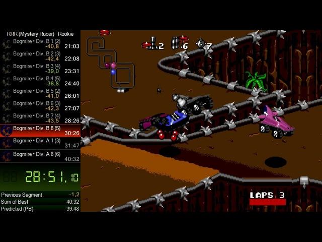 Rock n' Roll Racing (Sega) - Rookie Mystery Racer speedrun in 39:14 *Мировой Рекорд*