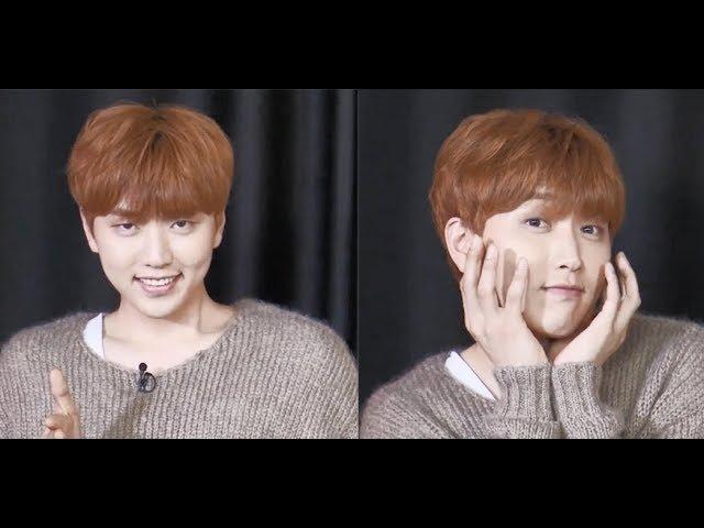 B1A4 ( Sandeul ) version of Sunmi Gashina 가시나 @해요TV