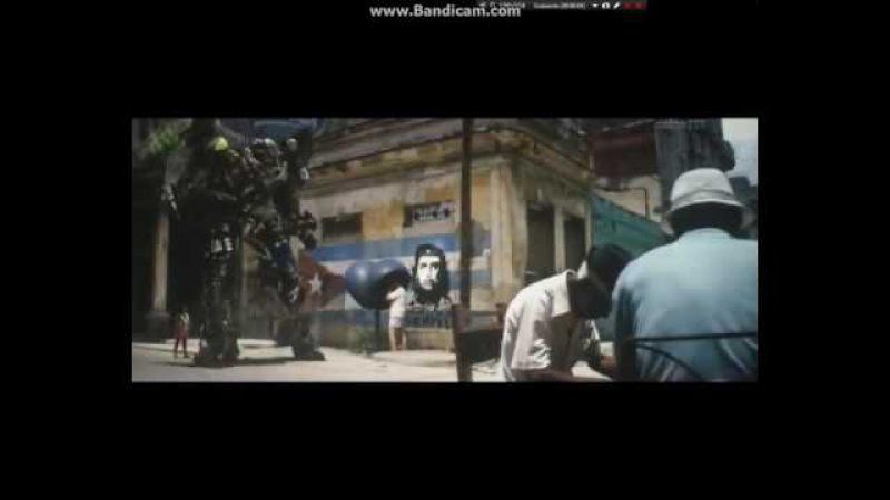 Transformers 5 Leadfoot en el cuerpo de Topsin 😢