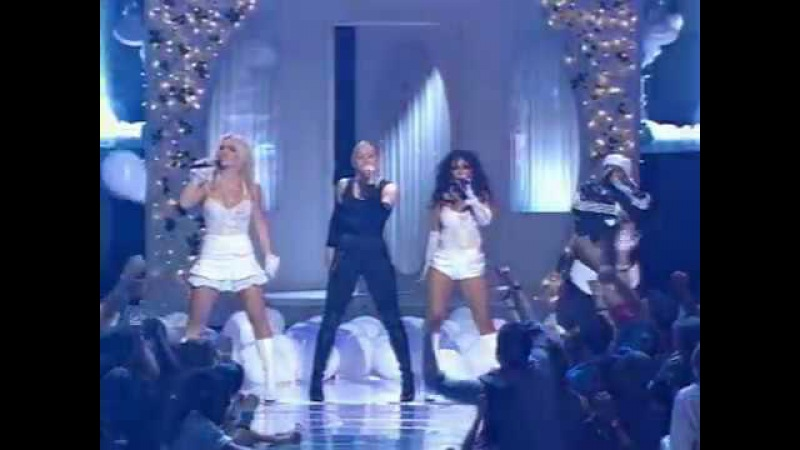 Britney Spears, Christina Aguilera, Madonna Missy Elliott Like A Virgin Hollywood Live At MTV