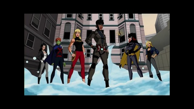 Young Justice Girls: Salute (Little Mix)