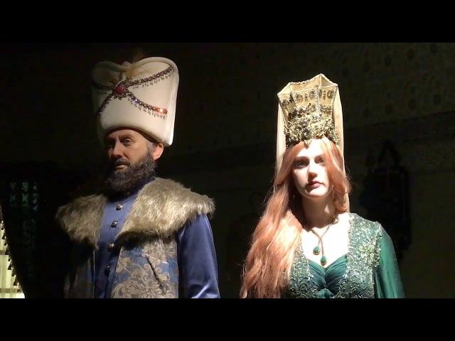 Выставка Великолепный век в Дубае Музей восковых фигур Хюррем Султан Hurrem Sultan турецкий сериал