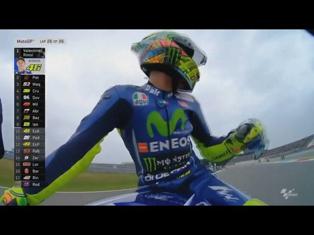 Highlight MotoGp Assen Belanda Valentino Rossi WIN💪👍 Maverick Vinales Crash😑😑