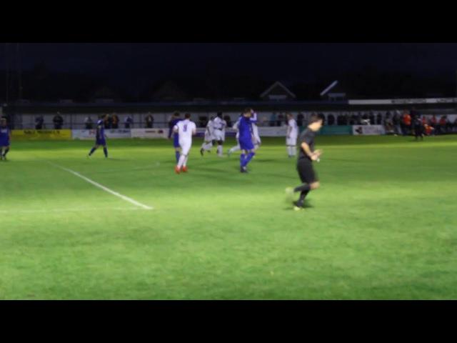 Whitby Town v Winsford United 03 09 2016 Matthew Tymon scores 1st goal 1080p