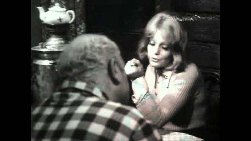 Отрывок из телевизионного спектакля Таня, 1974, реж. А. Эфрос, по пьесе А. Арбузова Таня - О. Яковлева, Васин - Л. Броневой.