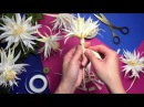 How to make crepe paper Cactus Flower