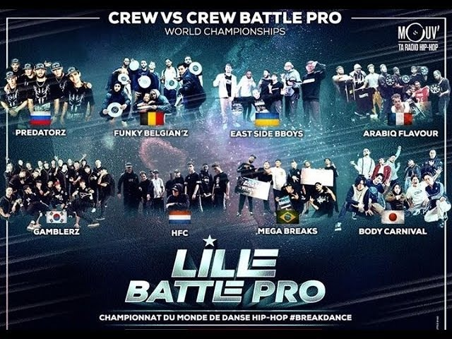 Predatorz vs HFC Lille Battle Pro 2018