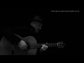 Fistful of Dollars (slow theme) FREE TAB Morricone solo fingerstyle guitar