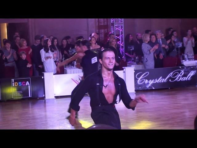 Darren Hammond - Milla Jive Final Amateur Latin Crystal Ball 2018