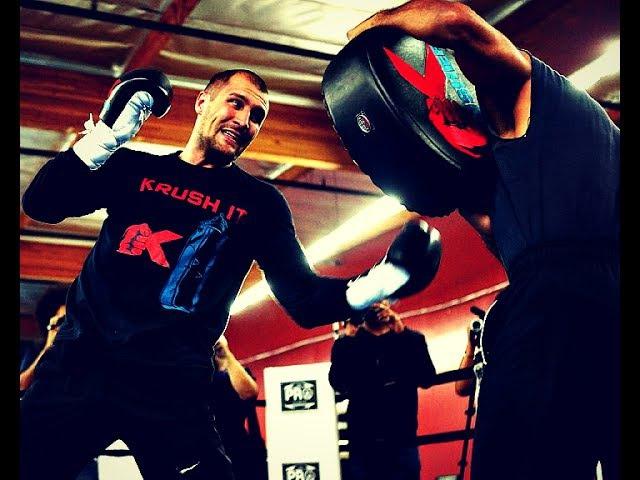Sergey Krusher Kovalev Training