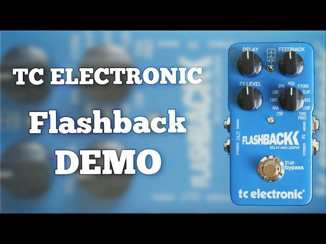 TC Electronic Flashback Delay Demo