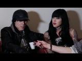 Soundsphere TV Interview Chris Corner (IAMX) and Kat Von D