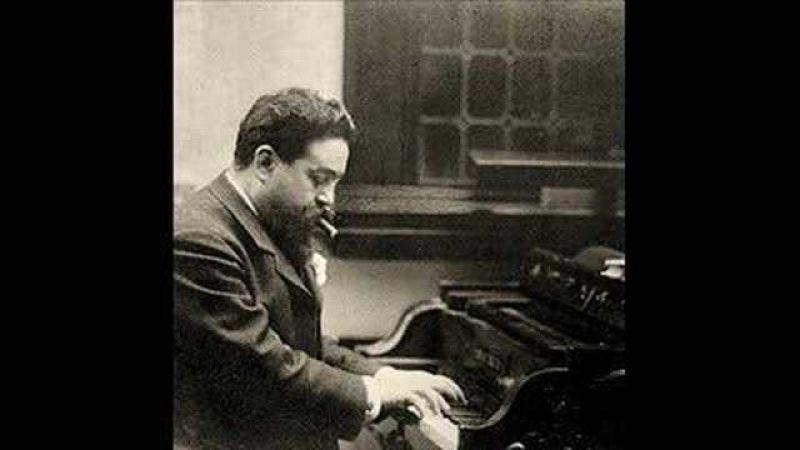 Isaac Albéniz (1860-1909): Improvisation no. 1 (1903)