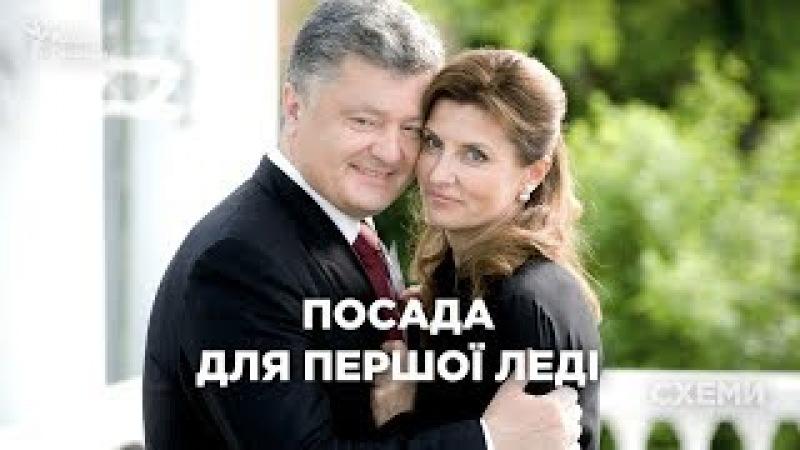 Як Марина Порошенко очолила Український культурний фонд    «СХЕМИ» №165