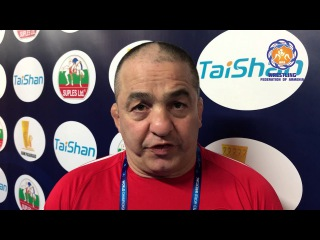 Maksim Manukyan, Levon Julfalakyan and Gevorg Aleksanyan commented the WCH 2017 in Paris