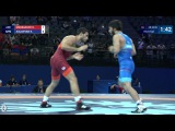 Repechage GR - 66 kg: K. ASLANYAN (ARM) df. K. MAMMADOV (AZE) by VFA, 7-1