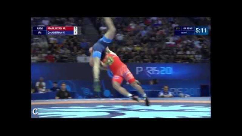 Big Move From Day 2 Of The World C'ships, Lutte2017