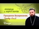 Прощеное Воскресение Проповедь 18 02 18 Протоиерей Андрей Ткачев