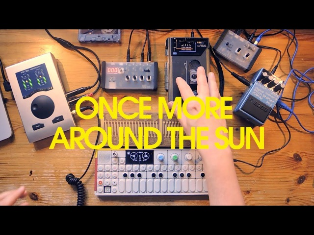 Once More Around The Sun | Piano Tape Loop Ambient, OP1
