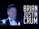 Brian Justin Crum Auditions Performances America's Got Talent 2016 Finalist