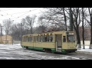 ЛМ68М Поездка на трамвайном вагоне Tramcar LM68M