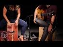 Kasandra Kocoshis & Vahagni play Bulerias Feat. the LP Americana Flamenco Exotic Cedar Wire Cajon